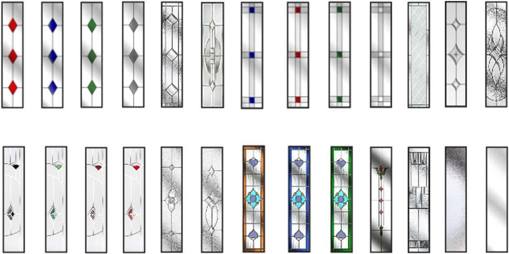 Masterdor Glass Options