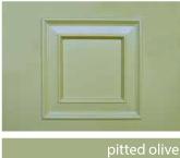 Olive Green Composite Door
